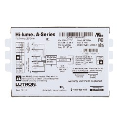 Led Dimming Driver Wiring Diagram Central Nervous System Labeled Lutron L3da4u1uks Fa070 Hi Lume A Series 1
