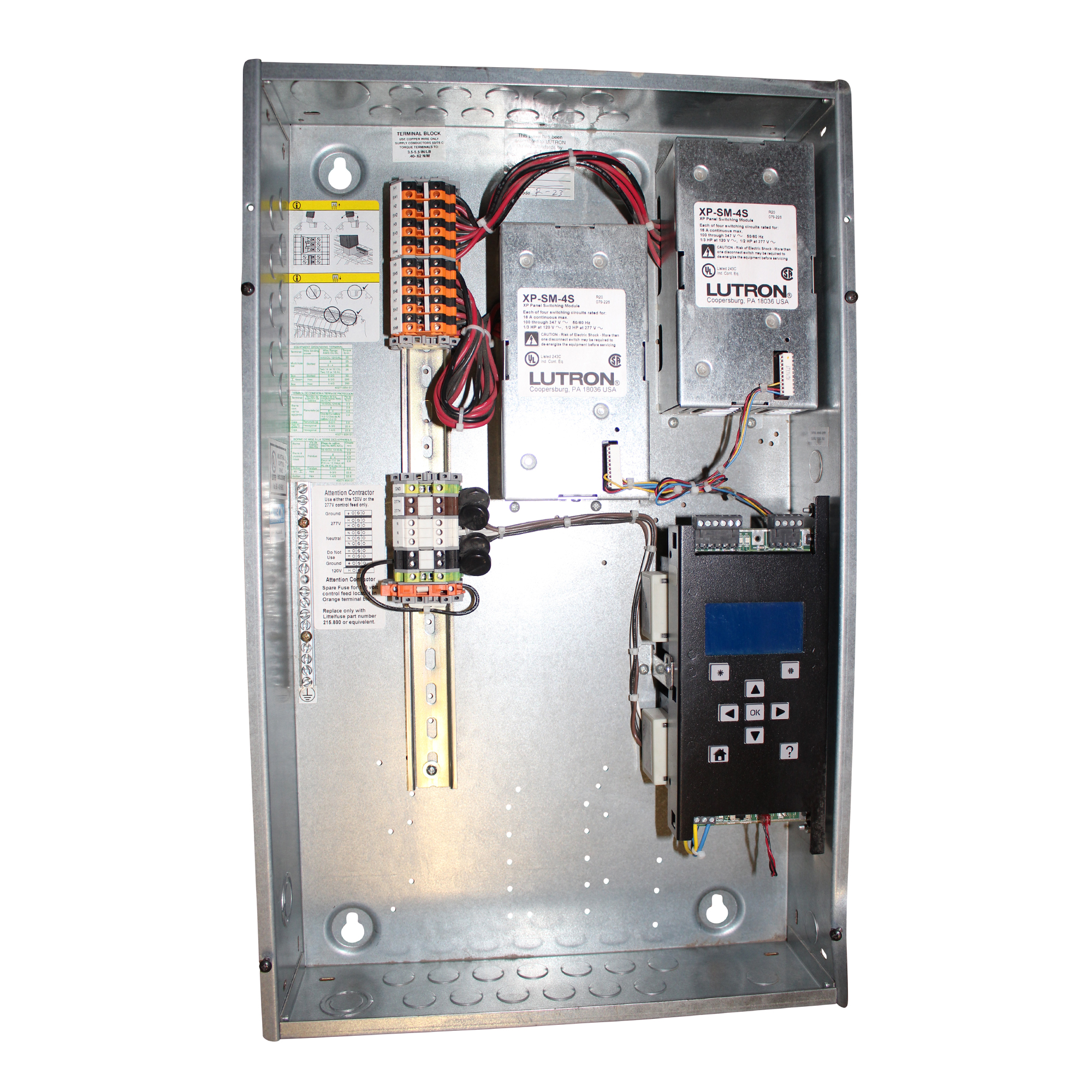 lighting relay panel wiring diagram ceiling fan diagrams lutron xps8 ft softswitch switching