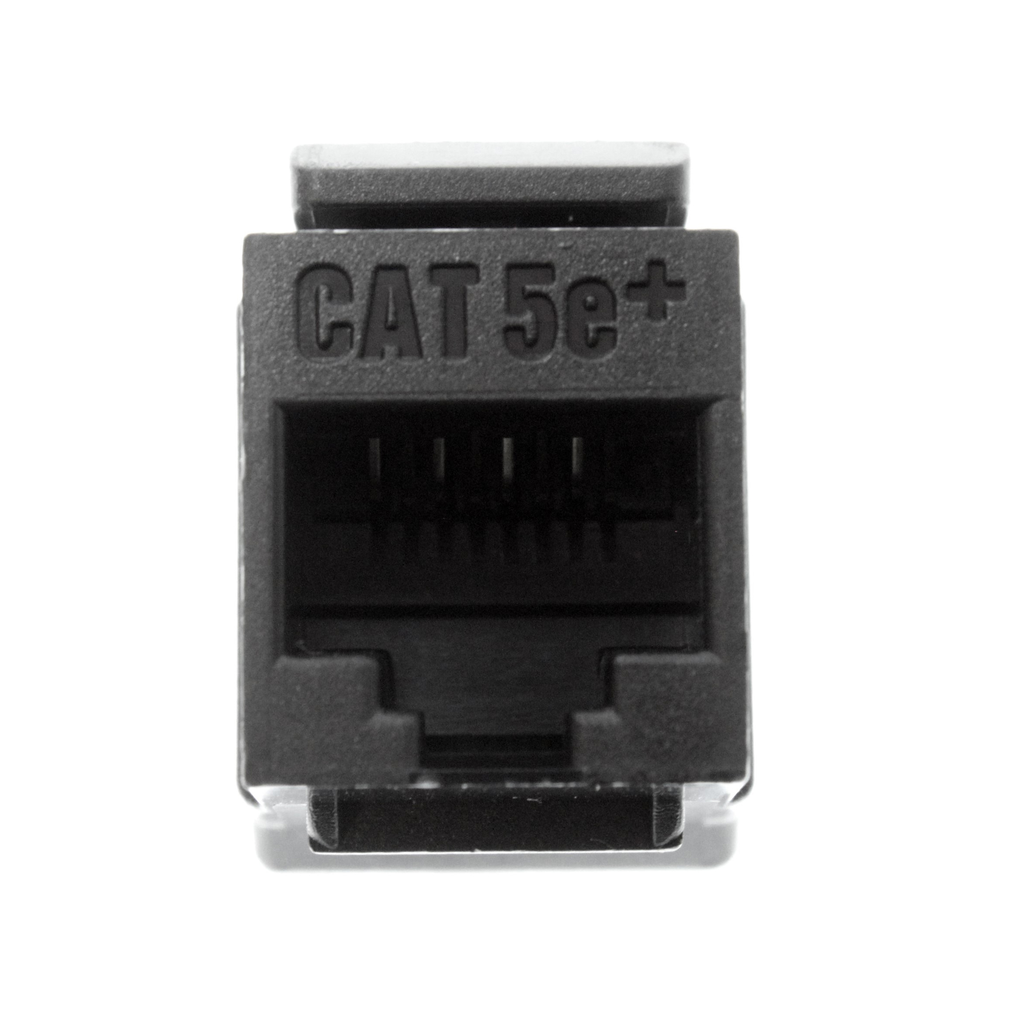 hight resolution of on q legrand wp3450 bk quick connect cat5e category 5e rj45 keystone wiring cat5e keystone jack