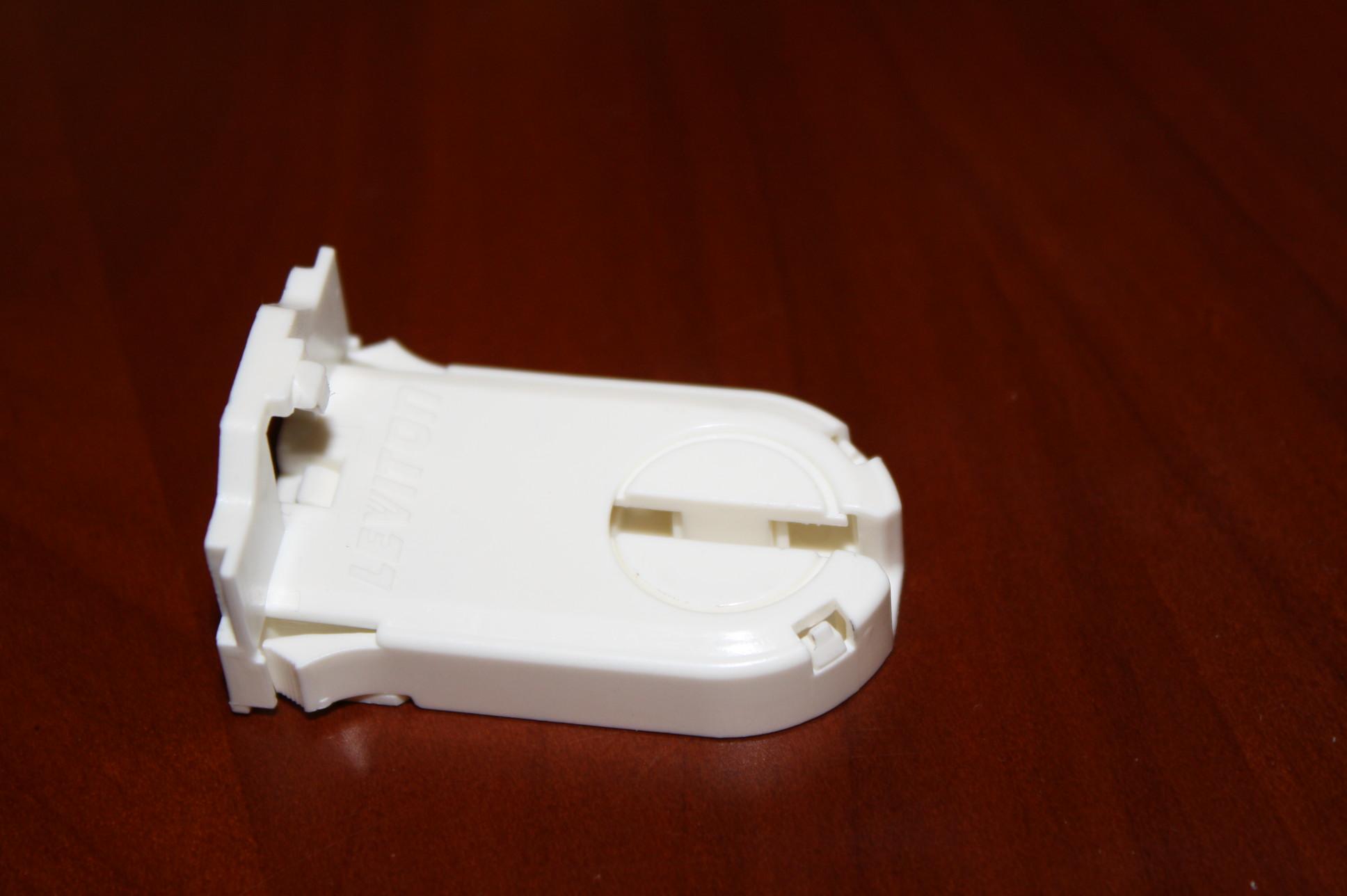 fluorescent light holder home inverter wiring diagram 1400 leviton 23660 swp white 600v 660w t8 t12