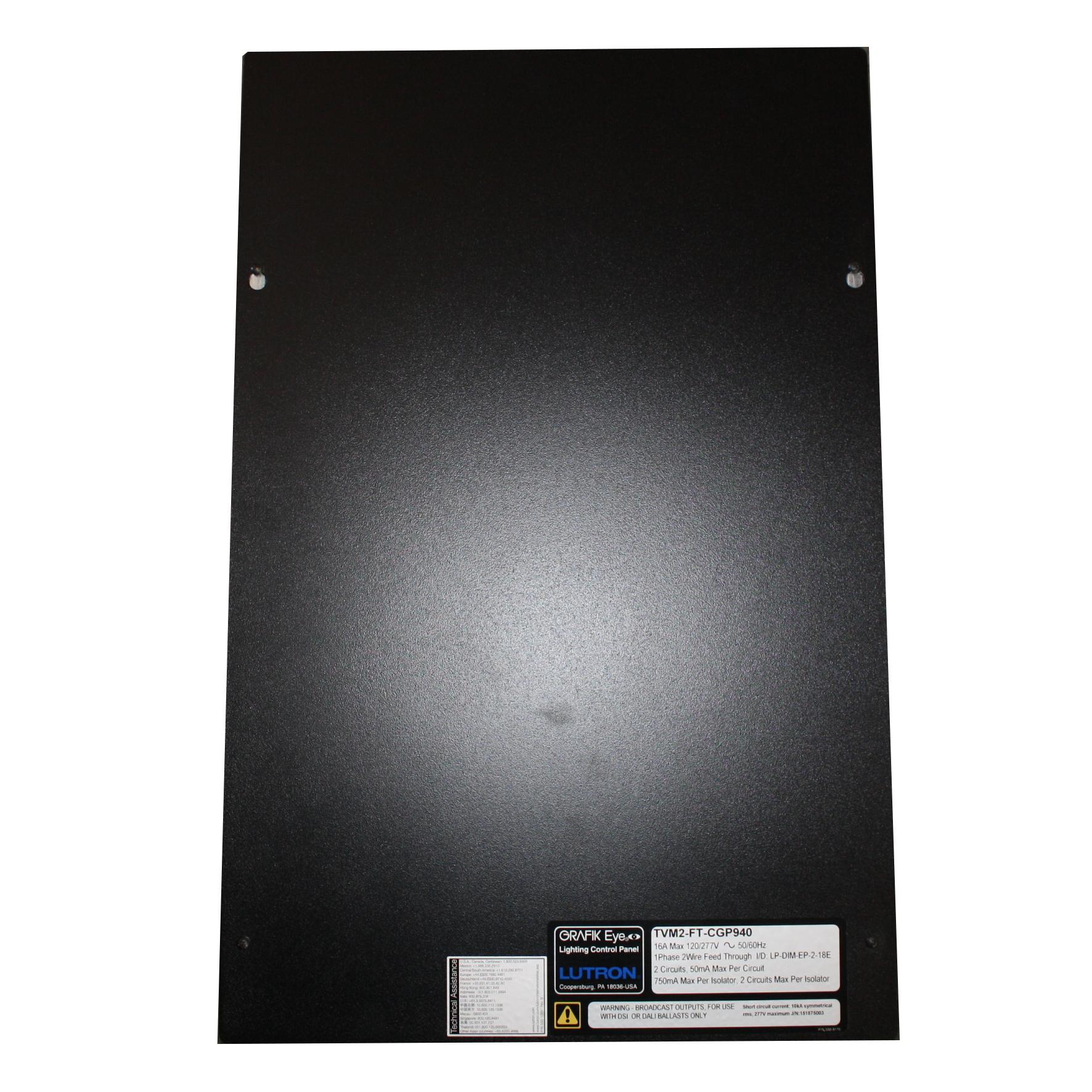 hight resolution of lutron tvm2 ft cgp940 tvm 120 277v grafik eye lighting