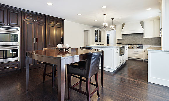 DarkStained Wood Floors  Homes for Sale in Jacksonville NC Home of Camp Lejeune and MCAS New