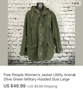 Top Sales February 2020 Free People Jacket