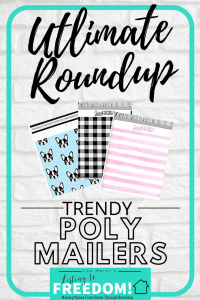 Trendy Chic Poly Mailers