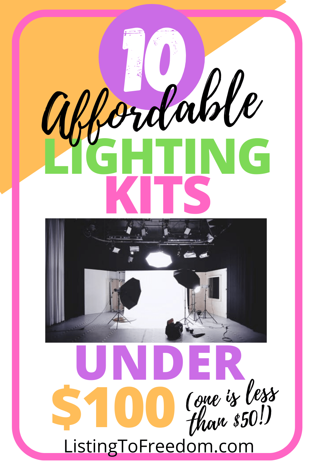 10 Affordable Lighting Kits Under $100