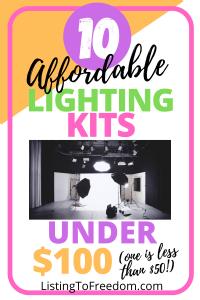 Affordable Lighting Kits