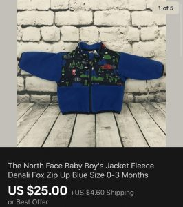 North Face Fox Jacket Sold eBay