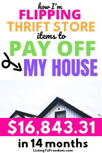 Mortgage Payoff Flipping Thrift Finds
