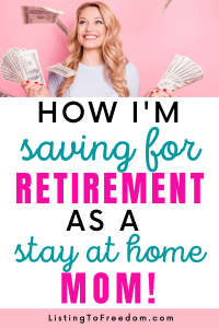 Retirement Stay At Home Mom