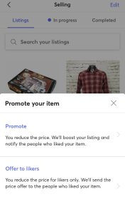 Offers To Likers For Selling On Mercari