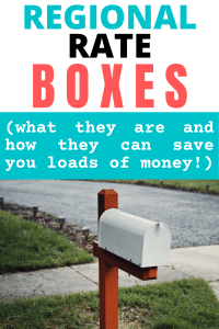 how to use regional rate boxes