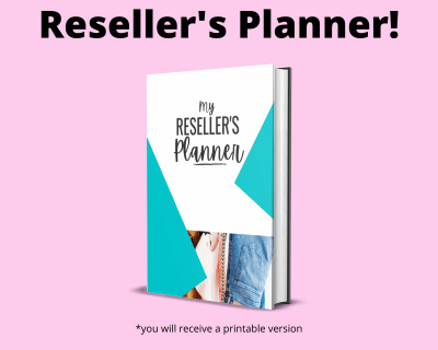 Printable Planner For Resellers