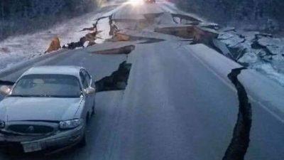 Terremoto 7.0 Alerta de tsunami tras un potente sismo en Alaska