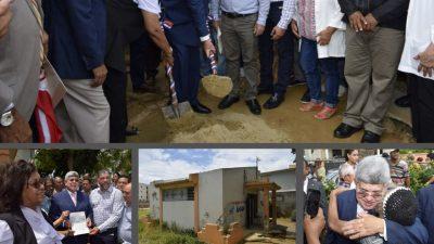 Fernando Rosa a través de Fonper inicia construcción de centro de salud en Santiago