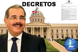 Esperados decretos presidenciales en RD empiezan a salir.