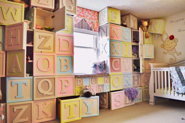 50 Easy Diy Storage Ideas To Organize Kids' Rooms  Page