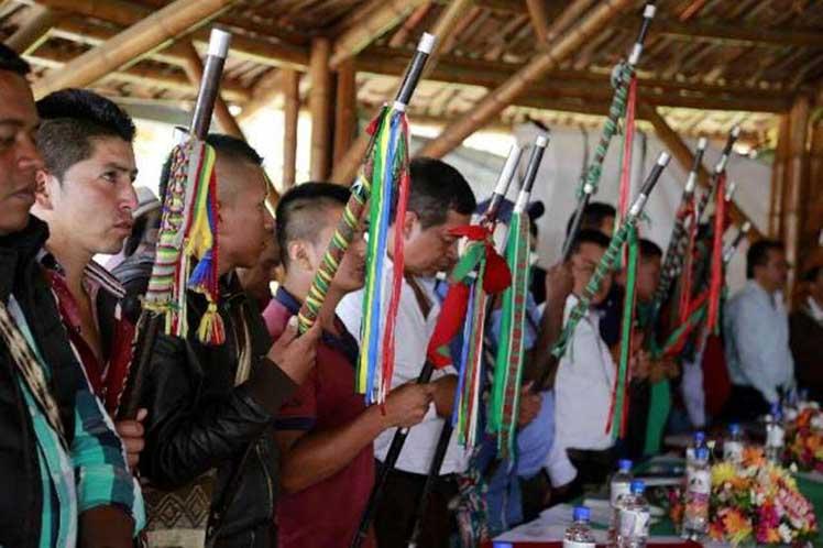 Movilización de pueblos indígenas en suroeste de Colombia