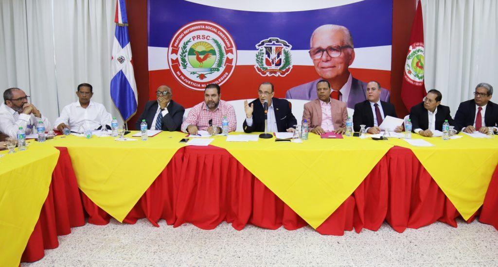 PRSC aprueba reglamento para escoger candidatos con miras a elecciones 2020