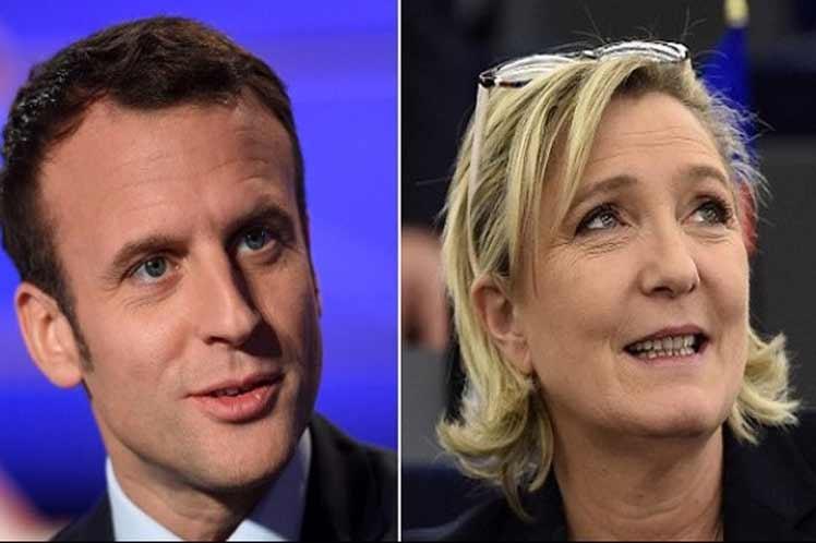 Nuevo duelo Macron-Le Pen en elecciones europeas en Francia