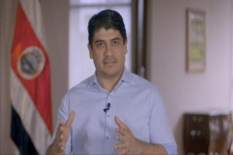 Presidente de Costa Rica anuncia generación de empleos e inversiones