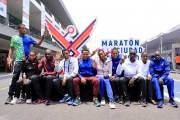 Comenzó maratón gigante en México con 30 mil participantes