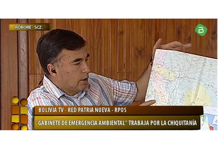 Rechazan en Bolivia intentos de la derecha para politizar incendios