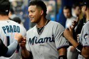 Starlin Castro dos sencillos en victoria de los Marlins sobre los Dodgers
