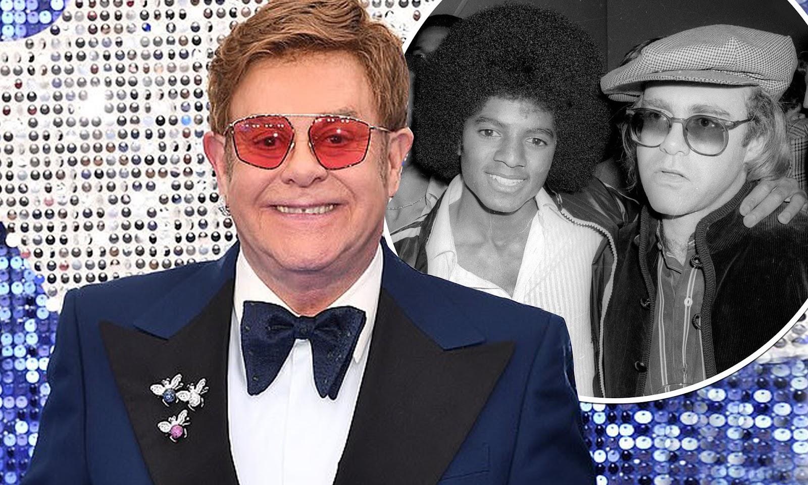 """Elton John dice """"Michael Jackson era una persona perturbadora y sufría una enfermedad mental""""."""