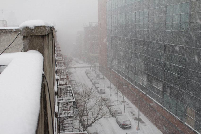 Cancelan alerta por nieve en NY