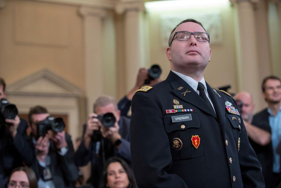 Impeachment: Casa Blanca explota contra teniente coronel mientras declaraba contra Trump