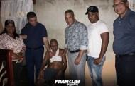 Diputado y candidato a senador Franklin Romero dona 100 mil pesos para salvar vivienda de personas necesitadas