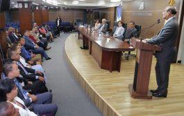 Técnicos de los distintos partidos se reúnen con pleno de la JCE con el objetivo de aprobar las boletas y voto automatizado