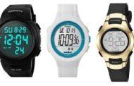 4 relojes digitales con números grandes para adultos mayores poder ver la hora