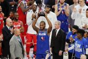 "Kawhi Leonard gana el primer Premio MVP Kobe Bryant y se lo dedica a la ""Mamba"""