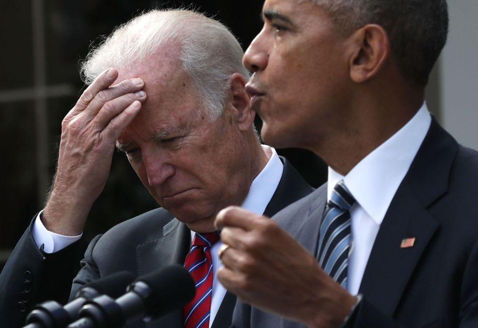 """Obama entra en la campaña 2020 para defender a su exvicepresidente Biden de ataque """"despreciable"""""""