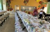 Educación continúa entrega de alimentos a estudiantes del sistema público