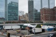 New York instala morgue improvisada por virus en el mismo sitio que el 11S