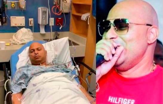 Revelan causa de la hospitalización del merenguero de calle Tulile