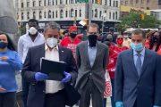 Adriano Espaillat lanza manifiesto para poner fin a brutalidad policial y racismo
