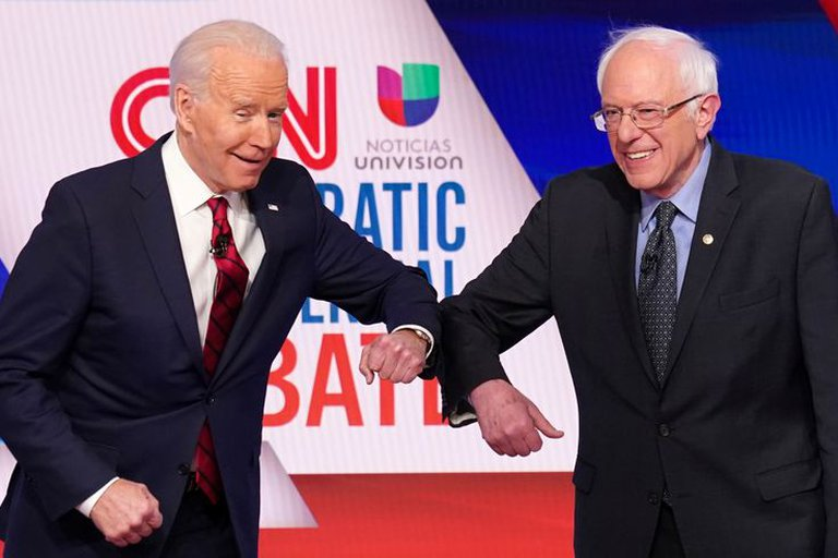 Bernie Sanders dijo que Joe Biden necesita acercarse más a los votantes hispanos