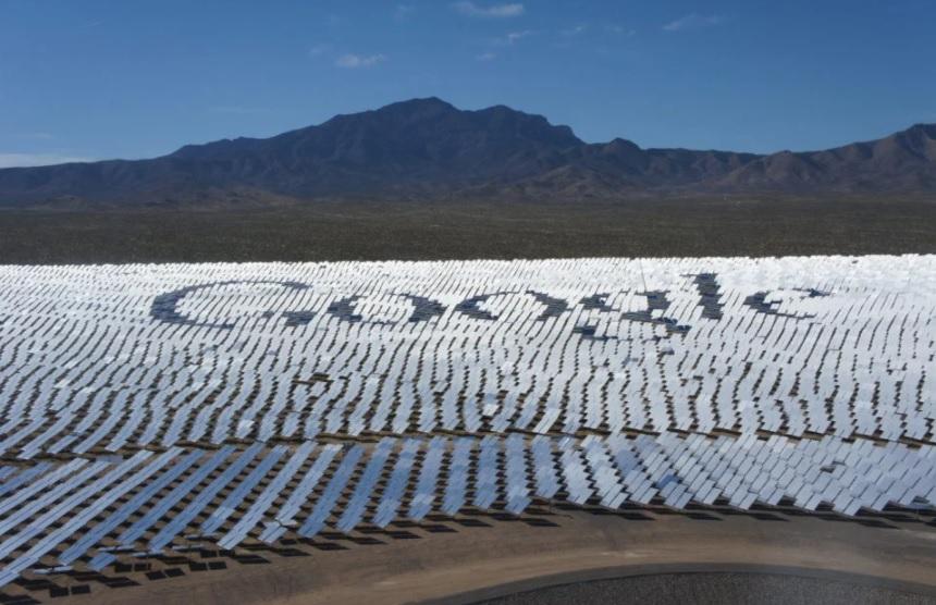Google se marca el ambicioso reto de consumir solo energía limpia en 2030
