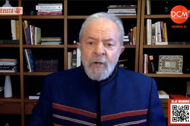 Lula: tengo dignidad para enfrentar podredumbre Lava Jato en Brasil