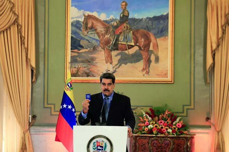 Presidente de Venezuela reitera voluntad de diálogo con EE.UU.
