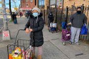 El hambre sigue rondando con fuerza a Nueva York mientras se recupera de los estragos del COVID-19