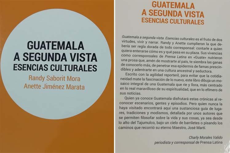 Editorial Ocean Sur presenta libro sobre cultura de Guatemala