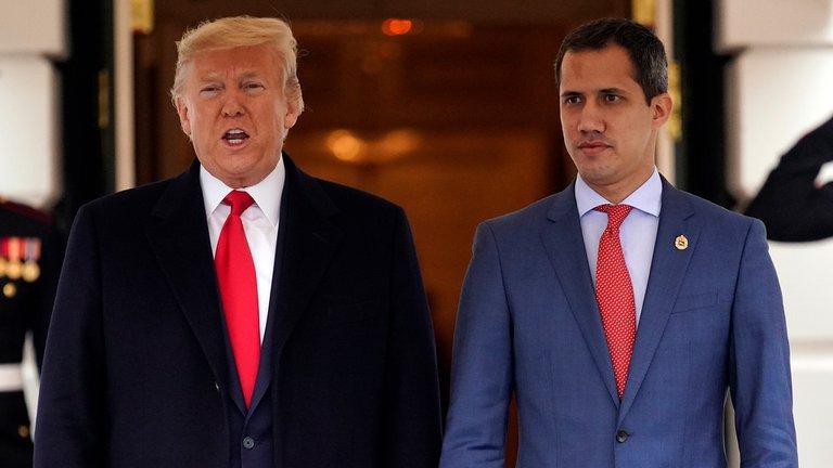 """Estados Unidos y el gobierno interino de Venezuela reiteraron su compromiso para que """"el narcorégimen ilegítimo de Maduro rinda cuentas por sus crímenes"""""""