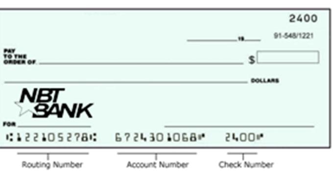 NBT Bank check