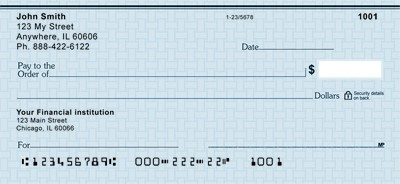 Arvest Bank Check