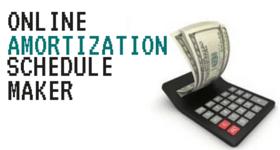 Online Amortization Schedule