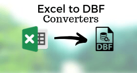 Excel to DBF converter